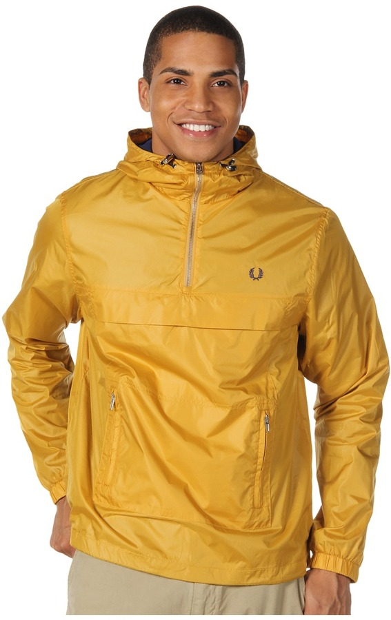 Fred Perry Cagoule (Mustard Yellow) - Apparel