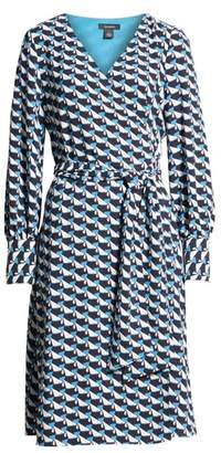 Halogen Wrap Dress