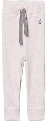 Petit Bateau Cream Drawstring Sweatpants
