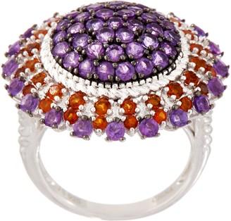 Moonflower Gemstone Statement Ring, Sterling Silver