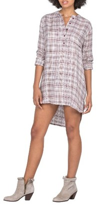 Women's Volcom Plaidazzle Shirtdress $57 thestylecure.com