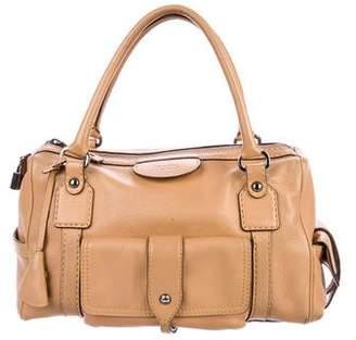 Tod's Leather Pocket Detail Handle Bag