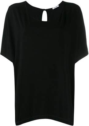 Styland oversized scoop neck T-shirt