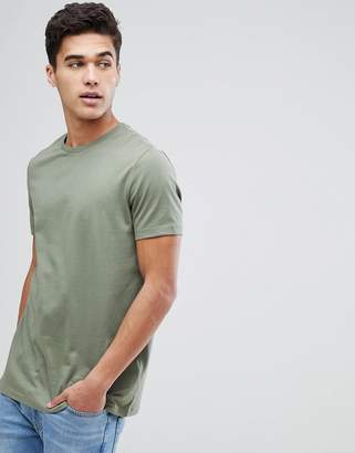 Asos Design DESIGN crew neck t-shirt in green
