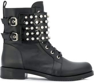 Loriblu studded ankle boots