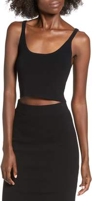 Leith Fitted Crop Top