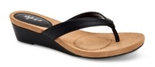 Style&Co. Style & Co. Haloe2 Wedge Thong Sandals, Created for Macy's Women's Shoes