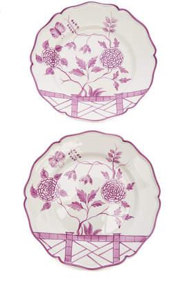 Alex Papachristidis Set-of-Two Le Jardin Chinois Dinner Plate