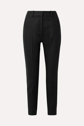 Equipment Warsaw Wool Slim-leg Pants - Black