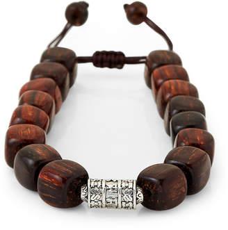 Jean Claude Spiritual Wooden Beaded Bracelet