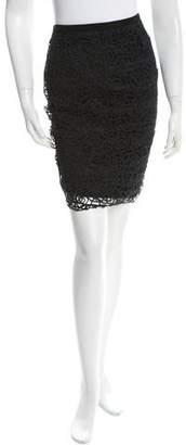 Chanel Woven Pencil Skirt