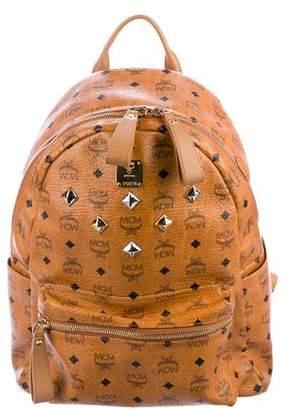 MCM Visetos Stark Studded Backpack
