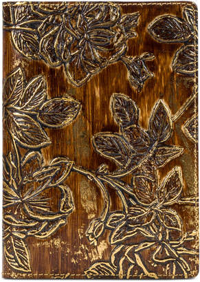 Patricia Nash Metallic Bark Leaves Vinci Journal