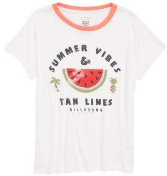 Billabong Summer Vibes Graphic Tee