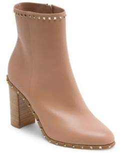 Valentino Garavani Soul Rockstud Leather Booties