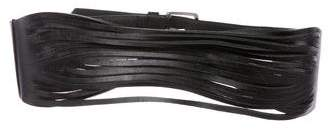 B-Low the Belt Multistrap Leather Waist Belt