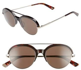 Web 51mm Aviator Sunglasses