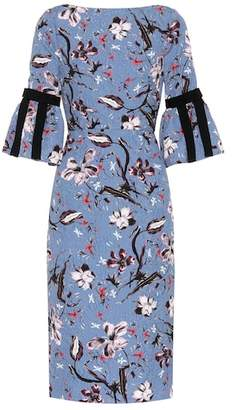 Erdem Alexandra brocade dress