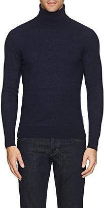 Isaia Men's Bouclé Cashmere Turtleneck Sweater
