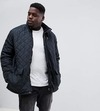 Duke King Size Quilted Jacket In Black