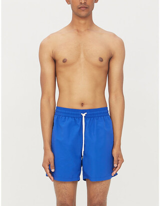 4ac75fbda8 Polo Ralph Lauren Traveller logo-embroidered swim shorts