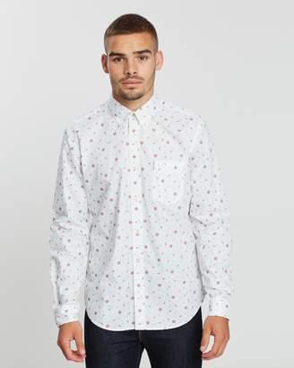 Ben Sherman LS Rose Scatter Shirt