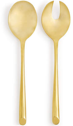 Hotel Collection 18/0 Stainless Steel 2-Pc. Gold-Tone Serving Set, Created for Macy's