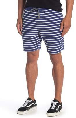 Scotch & Soda Striped Classic Summer Sweat Shorts