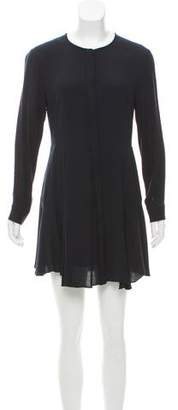 A.L.C. Long Sleeve Mini Dress