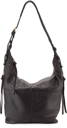 Kooba Joan Leather Crossbody Hobo Bag, Black $280 thestylecure.com