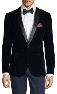 Slim Tailored- Fit Velvet Dinner Jacket