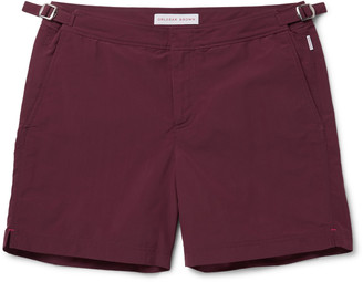 Orlebar Brown Bulldog Mid-Length Swim Shorts $240 thestylecure.com