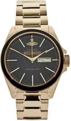 Vivienne Westwood Men's Camden Lock Bracelet Watch- Gold