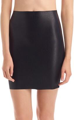Commando Faux Leather Miniskirt