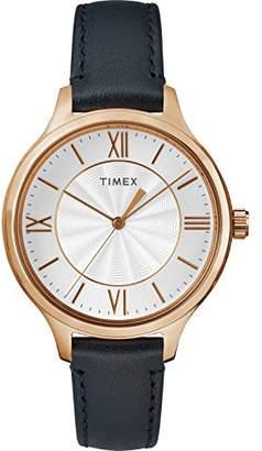 Timex Women's TW2R82300 Peyton Leather Strap Watch