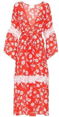 Athena Procopiou Farah silk kimono