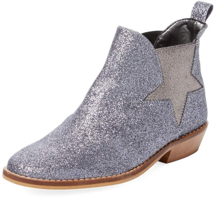 Stella McCartney Glittered Star Boot