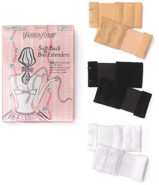 Fashion Forms 2-Hook Soft Back Bra Extenders, Set of 6