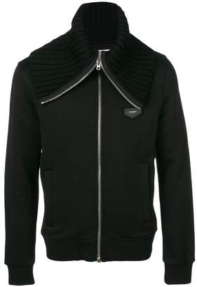 Givenchy fitted zip sweatshirt