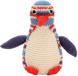 Anne Claire オーガニックコットン ペンギンぬいぐるみ