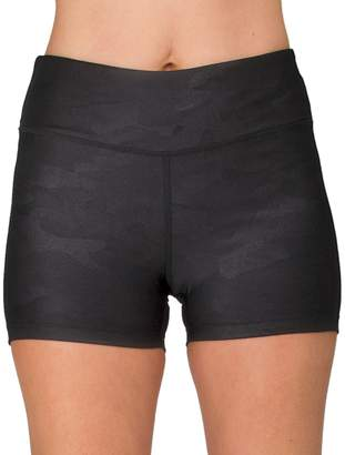 Spalding Women's Camo High-Waisted Bike Shorts