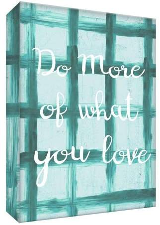 Do More I Decorative Canvas Wall Art 11