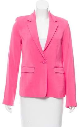 Alice + Olivia Tailored Notch-Lapel Blazer