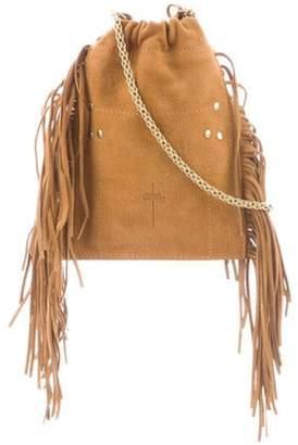 Jérà ́me Dreyfuss Mini Drawstring Crossbody Bag gold Jérà ́me Dreyfuss Mini Drawstring Crossbody Bag