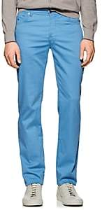 Marco Pescarolo Men's Cotton-Blend Five-Pocket Pants-Lt. Blue