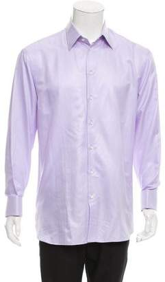 Armani Collezioni French Cuff Button-Up Shirt