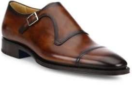 Sutor Mantellassi Uberto Single Monk-Strap Shoes