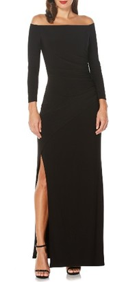 Women's Laundry By Shelli Segal Ruched Gown $225 thestylecure.com