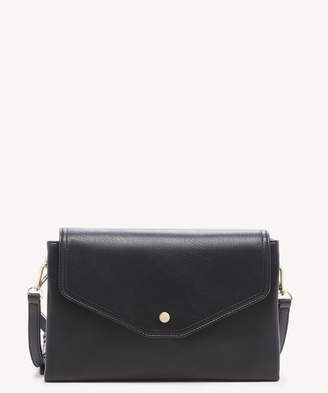Sole Society Women's Colia Clutch Faux Leather Black From