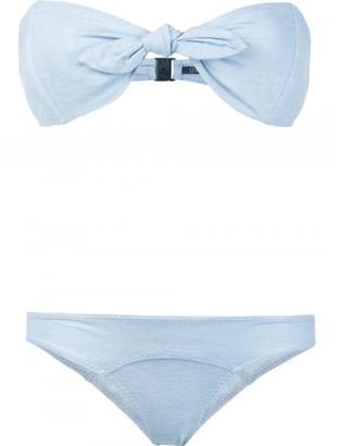 Lisa Marie Fernandez strapless bikini $385 thestylecure.com